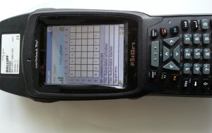 RFID Applikation für Motorola PSION (BALLUFF AG)
