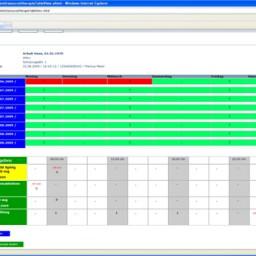 brusoftBUILD Tabellenansicht