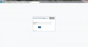Büro Software (Widmer AG) Loginmaske