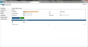 Büro Software (Widmer AG) Einstellungen
