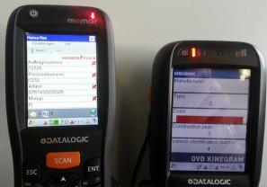 Applikation für mobile Geräte (ID-Systems AG)